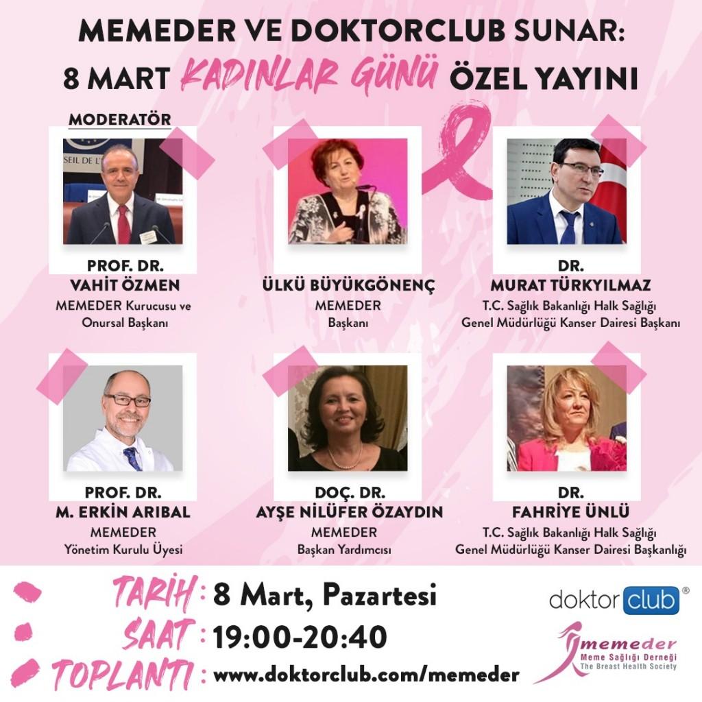 memeder 8 mart 2021 kadınlar günü etkinlikleri